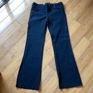 Black Career Pants - 1